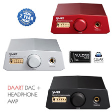Yulong daart Canary II DSD Sabre 768khz DAC DIGITALE ANALOGICA CONV. USB CONVERTITORE poiché
