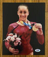 Jordyn Wieber Signed 8x10 Photo Autograph PSA/DNA Sticker ONLY Olympic Gymnast