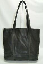 Coach Vintage Black Leather Large Shopper Tote Bag 6508