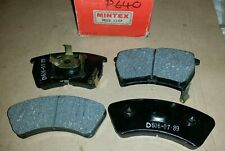 MAZDA 323 1.6i AND TURBO AKEBONO 1986-88 FRONT BRAKE PADS MINTEX MDB1347