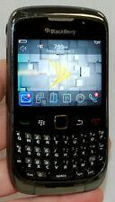 RIM BlackBerry Curve 3G 9330 Black Sprint PCS Wireless Smart Cell Phone keyboard