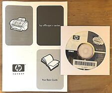 HP Hewlett Packard OfficeJet V Series Printer User Guide & CD (2000)  (4379)