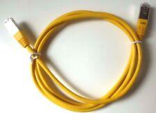 LAN KABEL, Netzwerkkabel, gelb, unbenutzt