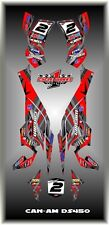 Can-Am DS 450 ATV  SEMI CUSTOM GRAPHICS KIT STRIKE