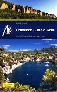 REISEFÜHRER PROVENCE Côte d'Azur, 2018/19 MICHAEL MÜLLER Verlag ungelsen wie neu