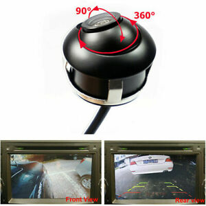360 Degree Car Left+Right Rear Front View Backup Camera Night Vision Waterproof