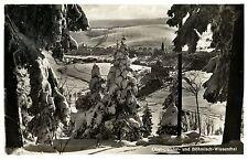 Winter in Böhmisch Wiesenthal um 1935