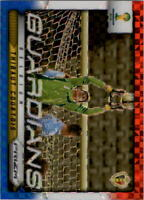 2014 Panini Prizm World Cup Guardians Prizms Red White Blue #3 Thibaut Courtois