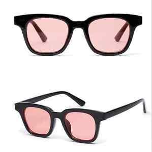 Agstum Retro Color Tinted Lens Outdoor Fashion Square Eyeglasses Sunglasses 1931