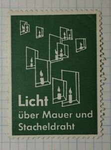 Wired Light Electric Switch Germany Brand Poster Stamp Ads