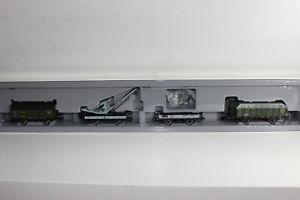 Märklin H0 4897 Wagen-Set 4tlg.Torftransport der K.Bay.St.B.  in OVP