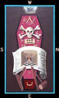 Harris 3rd Degree Tracing Board masonic poster freemason artwork ring