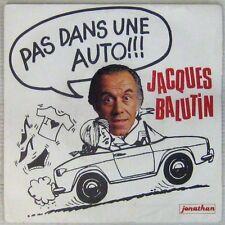 Jacques Balutin 45 Tours 1982