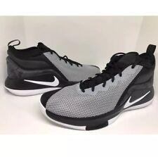 Nike Lebron Witness II Men's Sz 11 Black White Basketball Shoes 942518-011