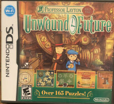 Professor Layton and the Unwound Future (Nintendo DS, 2010) Complete With Manual