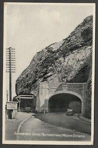 Postcard Penmaenmawr Conwy Wales the Penmaenbach Tunnel Western Entrance 1942