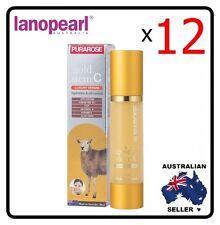[ lanopearl ] 12 x  PURAROSE gold stem C luxury serum Hydration and Oil control