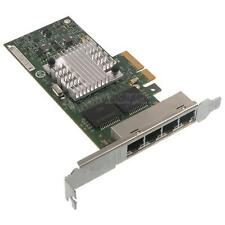 HP NC365T PCI-E Quad Port Gigabit Adapter 593743-001