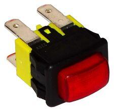 Interrupteur commutateur contacteur bouton rouge DPST-NO 16A/250V 2 positions