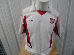 VINTAGE NIKE USA NATIONAL TEAM LANDON DONOVAN #21 MEDIUM SEWN JERSEY 2002/03 KIT
