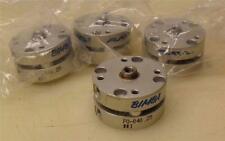 """> Lot of 4 < Bimba Pneumatic Cylinder Flat F0-040-25 3/4"""" Bore : 1/4"""" Stroke"""