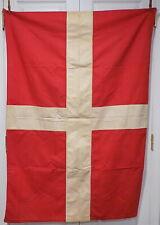 Original WWII Italian Kingdom House of Savoy Royal Family Flag Banner