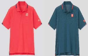 UNIQLO Polo shirt × Roger Federer tennis player DRY-EX 2021 From Japan
