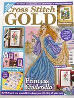 Cross Stitch Gold UK Magazine Issue 29 April 2012 Princess Cinderella Baby Quilt