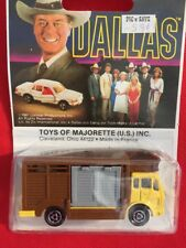 "VINTAGE TOYS OF MAJORETTE ""DALLAS"" BETAILERE #264 1981 NEW OTHER"