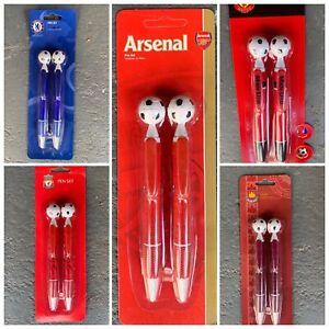 Official Football Gift Pen Set Arsenal Westham Manchester Utd Liverpool Chelsea