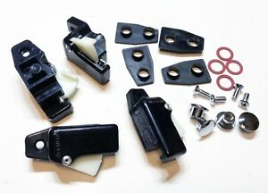 Classic Mini Sliding Window Model - New Complete Plastic Window Catch Kit
