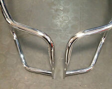 Rear & side crash 'Florida' bars & foot pegs for Vespa PX & LML Star by Cuppini