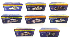 Lot de 8 voitures Police Anglaise 1/43 ATLAS FORD AUSTIN MINI DIECAST MODEL CAR