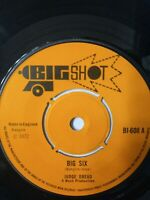 "Judge Dread ‎– Big Six - 7"" Single 1972"