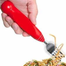 Automatic Twirling Spaghetti Fork Rotating Electric Pasta Dining Cutlery Utensil
