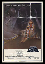 STAR WARS ☆ ACTUAL1977 PRINTED ☆ Style A 27x41 ROLLED NEVER-FOLDED MOVIE POSTER!