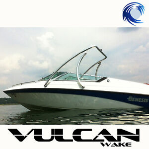 "Wakeboard Tower - Polished -  2.25"" tubing Vulcan Boost - from WAKE ESSENTIALS"