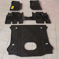 Jeep Wrangler Unlimited 4 Door Complete All Weather Floor Mat Set Mopar OEM