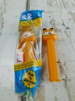 Lot of 2 Garfield Pez Dispenser Vintage Collectible New Sealed 1 Used