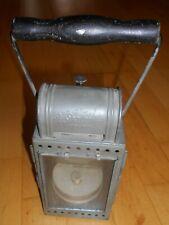 Laterne Eisenbahn Handlampe Karbid Zuglampe Signallampe Sartorius Wuppertal