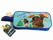 Moana Blue Pencil Case Bag Pouch New Kid Girl Purse Disney Princess #010