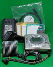 Sharp Portable MiniDisc Recorder Md-Ms722 Car+Wall Charger,3 Disks DigAudi Cable