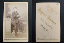 Becker, Neuwied, von Roux Vintage albumen carte de visite, CDV. Album de régimen