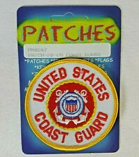 United States Coast Guard Patch Applique - Iron On Eagle Emblems Inc. - New