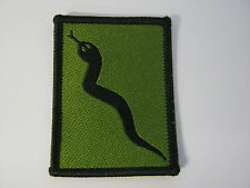 101 Logistic Brigade TRF in Olive Green - Hook & Loop  Military Cloth Patch