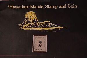 44 HAWAII SCOTT #20 UNUSED 1864 KINGDOM OF HAWAII NUMERALS