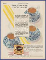 Vintage 1930 COCOMALT Chocolate Drink Kitchen Art Decor Ephemera Print Ad 1930's