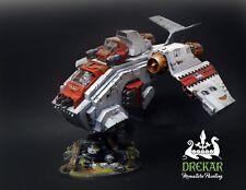Stormraven Gunship warhammer 40K * Commission * painting