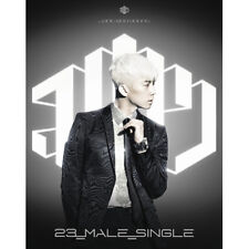 2PM JANG WOO YOUNG-[23,MALE,SINGLE] 1st Mini Ablum SILVER CD+Photocard+Photobook