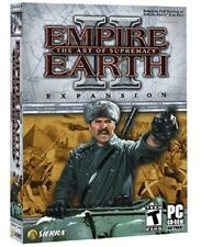 *NEW* Empire Earth 2 The Art Of Supremacy Exp Pack - PC